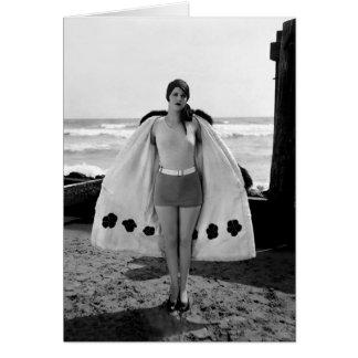 Nancy Hellman, Actress and Sennett Beauty Card