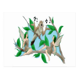 Nancy Nightingale and Tree Fairies Post Cards