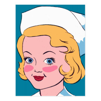 Nancy Nurse Postcard