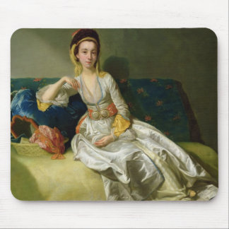 Nancy Parsons in Turkish Dress, c.1771 (oil on cop Mouse Pad