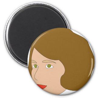 Nancy Pelosi 2 Inch Round Magnet