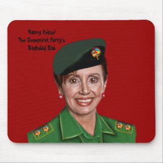 Nancy Pelosi aka Bagdad Bob Alfombrillas De Ratón