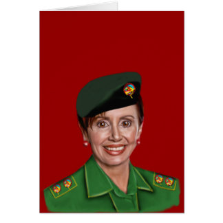 Nancy Pelosi aka Baghdad Bob Card