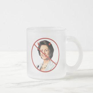 Nancy Pelosi anti Taza De Café Esmerilada