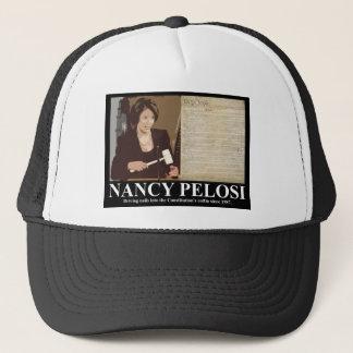 Nancy Pelosi: Constitution coffin nails Trucker Hat