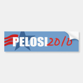 NANCY PELOSI Election Gear Bumper Sticker
