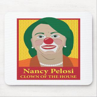 Nancy Pelosi es payaso Alfombrilla De Raton