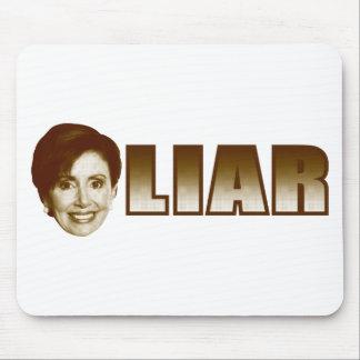 Nancy Pelosi es un mentiroso Tapete De Raton