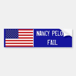 Nancy Pelosi: FAIL Car Bumper Sticker
