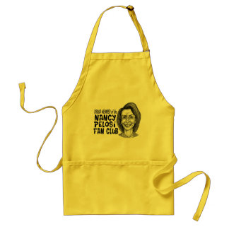 Nancy Pelosi Fan Club Adult Apron