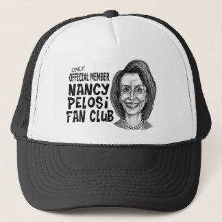 Nancy Pelosi Fan Club Trucker Hat