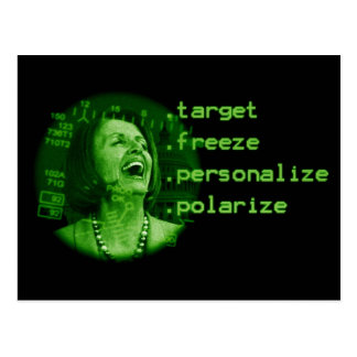Nancy Pelosi has to go! postcard