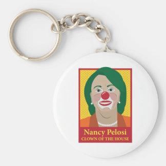 Nancy Pelosi is a Clown Key Chain