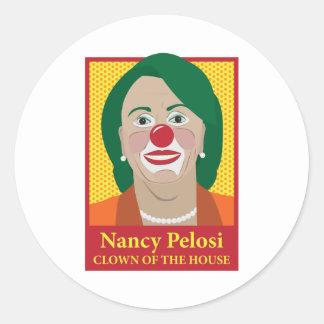 Nancy Pelosi is a Clown Sticker