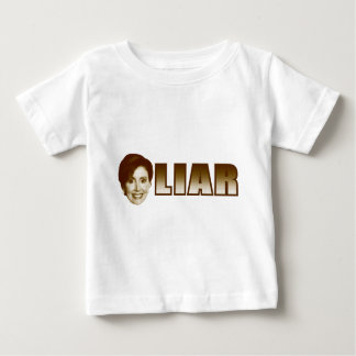 Nancy Pelosi is a Liar Baby T-Shirt
