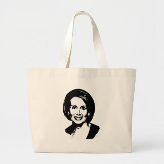 Nancy Pelosi T-shirt Large Tote Bag