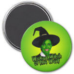 Nancy Pelosi Wicked Witch of the West 3 Inch Round Magnet
