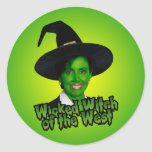 Nancy Pelosi Wicked Witch of the West Classic Round Sticker