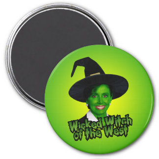Nancy Pelosi Wicked Witch of the West Magnet