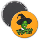 Nancy Pelosi Wicked Witch of the West Refrigerator Magnet