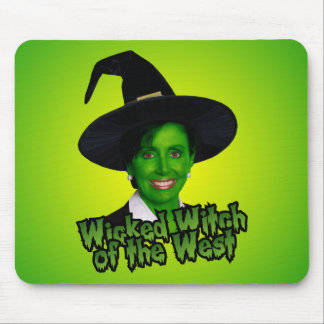 Nancy Pelosi Wicked Witch of the West Mouse Pad