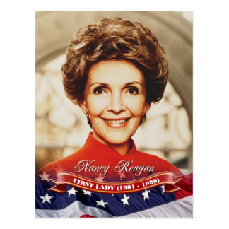 Nancy Reagan First Lady of the U S Postcards