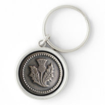 Nancy's Antique Buttons Keychain