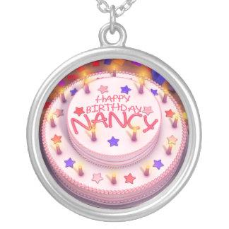 Nancy's Birthday Cake Custom Necklace
