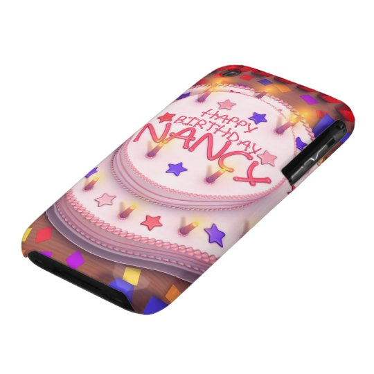 Nancy's Birthday Cake iPhone 3 Case-Mate Case