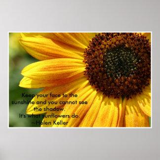 Nancys_sunflower Poster