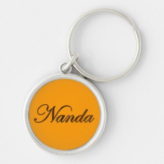 NANDA Nombre-Calificó llavero o tirador de cremall