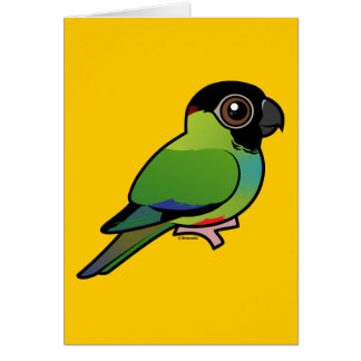 Nanday Conure Stationery Note Card