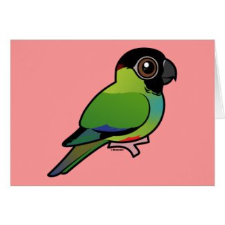 Nanday Conure Greeting Card