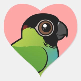 Nanday Conure Heart Sticker