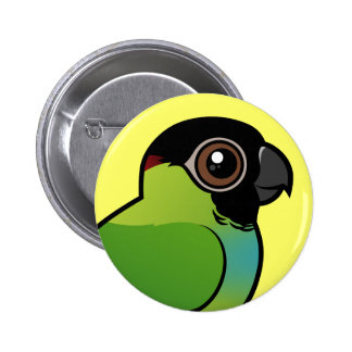 Nanday Conure Pinback Buttons