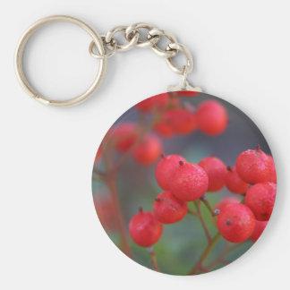 Nandina Berries Photo Keychain