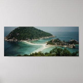 Nang Yuan Island, Thailand  Poster