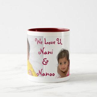 Nani and Nanoo Mug