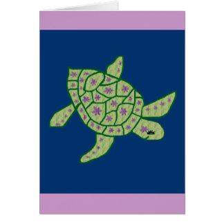 Nani Honu (Beautiful sea turtle) blank card