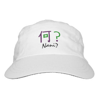 "Nani? It means ""What?"" Headsweats Hat"