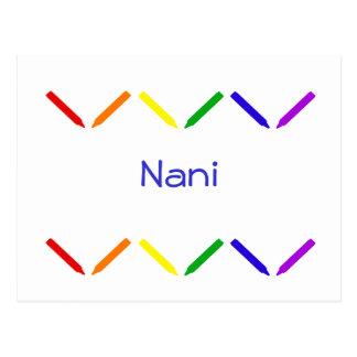 Nani Postcard