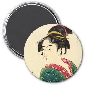 Naniwaya okita 3 inch round magnet