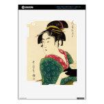 Naniwaya okita decal for iPad 3