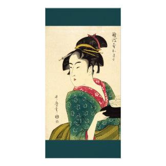 Naniwaya okita Photo Card