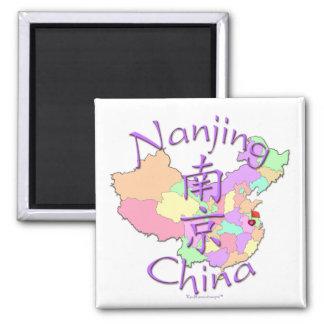 Nanjing China Imán Cuadrado