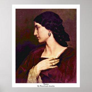 Nanna de Feuerbach Anselm Impresiones