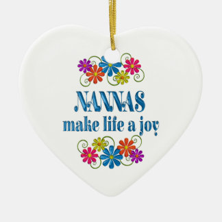 Nanna Joy Ceramic Ornament