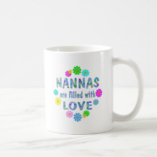 Nanna Classic White Coffee Mug