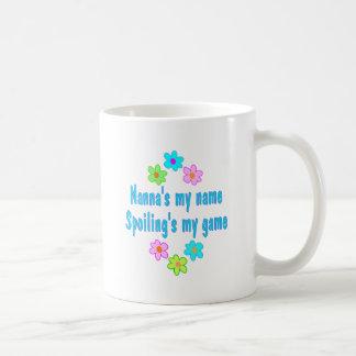 Nanna Spoils Classic White Coffee Mug