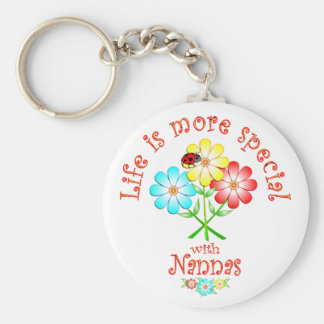 Nannas are Special Keychain